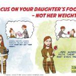 Focus op het voedingspatroon van je kind, niet het gewicht